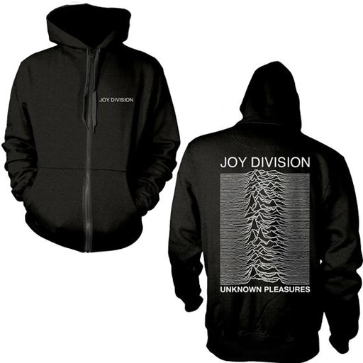 Hoodie - Joy Division - Unknown Pleasures - Zip-Metalomania