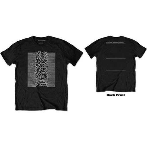T-Shirt - Joy Division - Unknown Pleasures - With Back Print