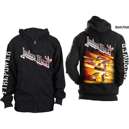 Hoodie - Judas Priest - Firepower - Zip-Metalomania