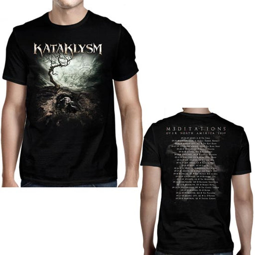 T-Shirt - Kataklysm - Meditations Tour 2019-Metalomania
