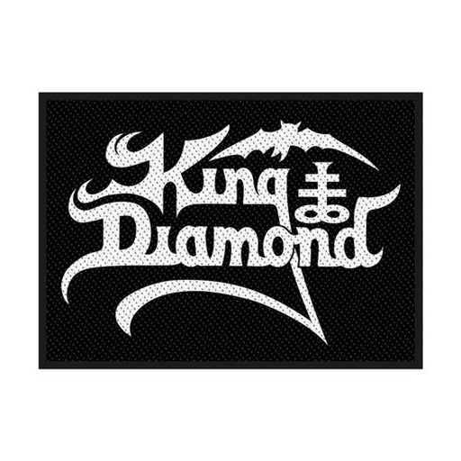 Patch - King Diamond - Logo-Metalomania