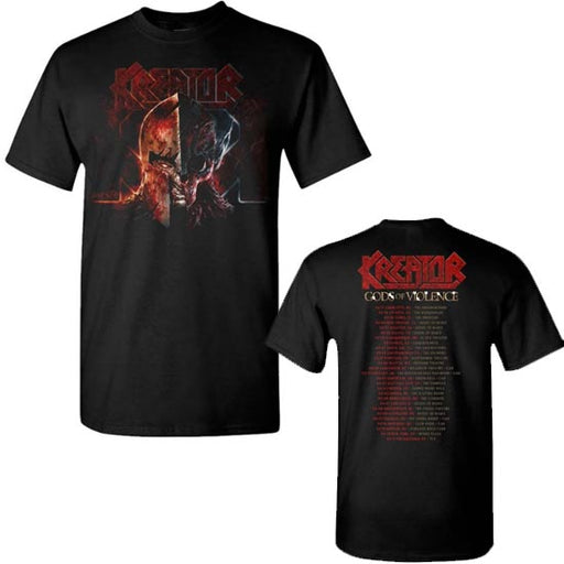 T-Shirt - Kreator- Helmet Warrior 2017 Tour