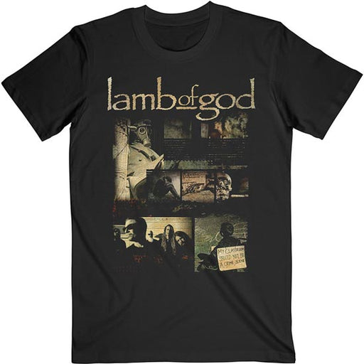 T-Shirt -  Lamb of God - Album Collage