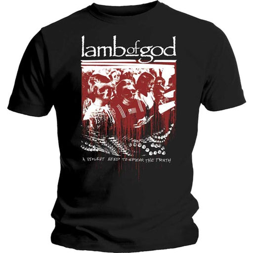 T-Shirt -  Lamb of God - Enough is Enough