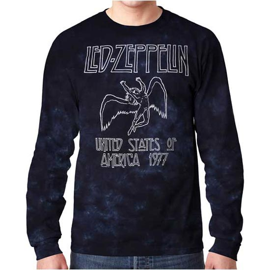Long Sleeves - Led Zeppelin - USA Tour 77-Metalomania