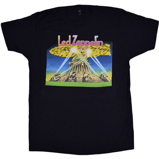 T-Shirt - Led Zeppelin - Space Ship-Metalomania