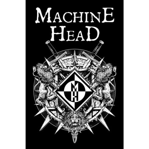 Deluxe Flag - Machine Head - Crest