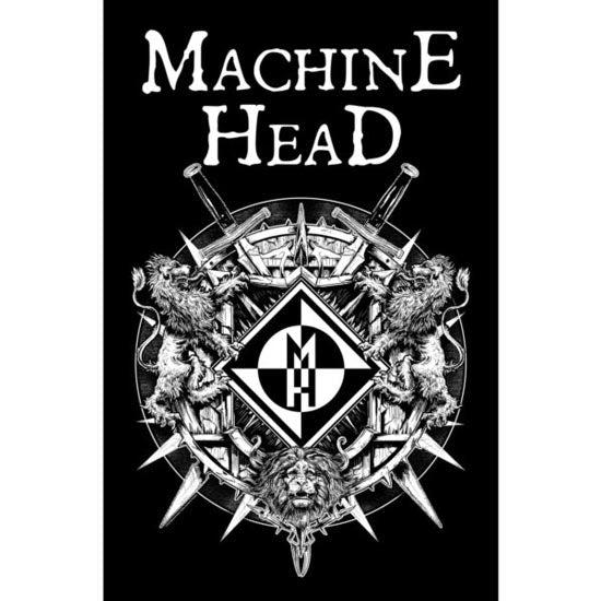 Deluxe Flag - Machine Head - Crest-Metalomania