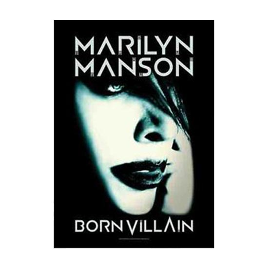Flag - Marilyn Manson - Born Villain