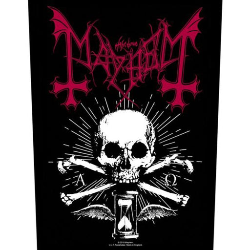 Back Patches - Mayhem - Alpha Omega Daemon