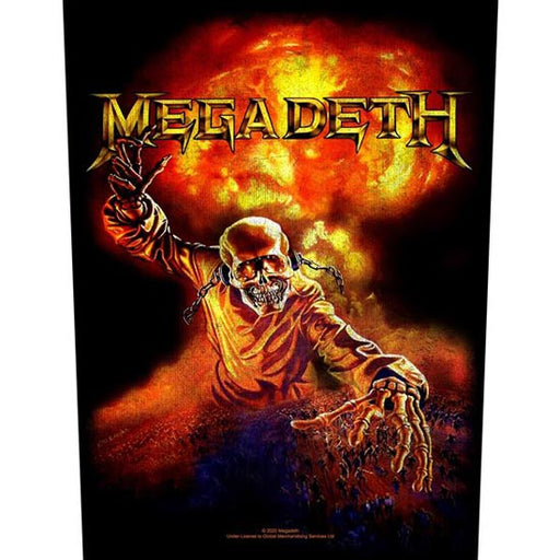 Back Patch - Megadeth - Nuclear
