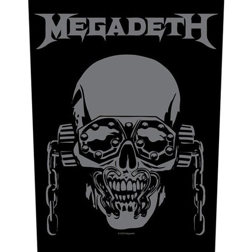 Back Patch - Megadeth - Vic Rattlehead