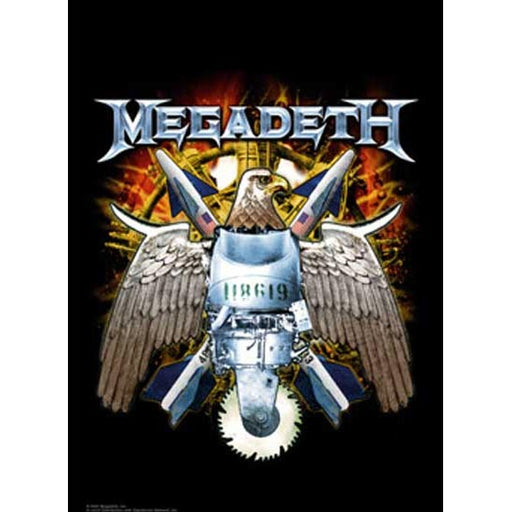 Flag - Megadeth – Eagle-Metalomania