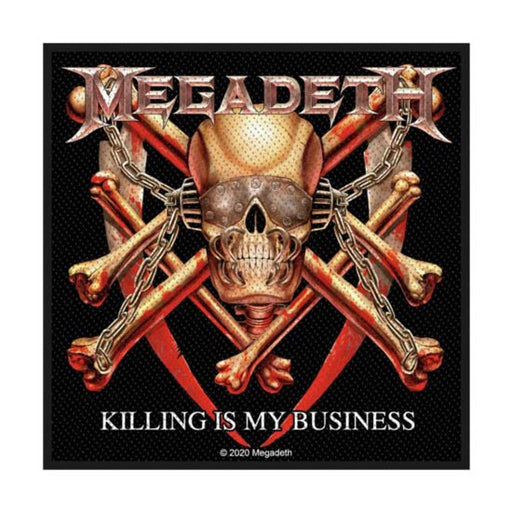 Patch - Megadeth - Killing Is My Business