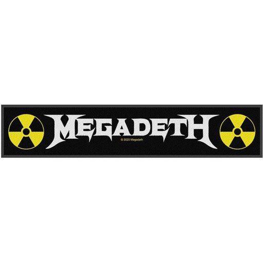 Patch - Megadeth - Logo Strip