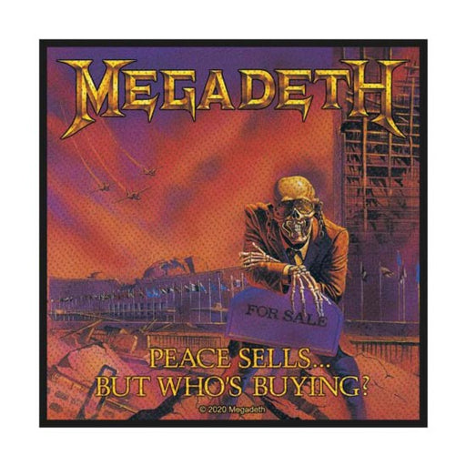 Patch - Megadeth - Peace Sells - V2