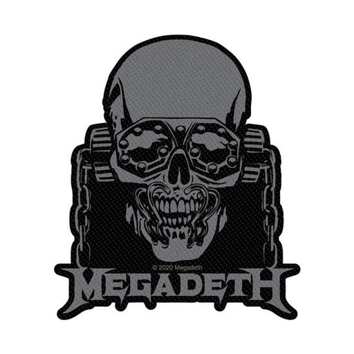 Patch - Megadeth - Vic Rattlehead Cut-Out