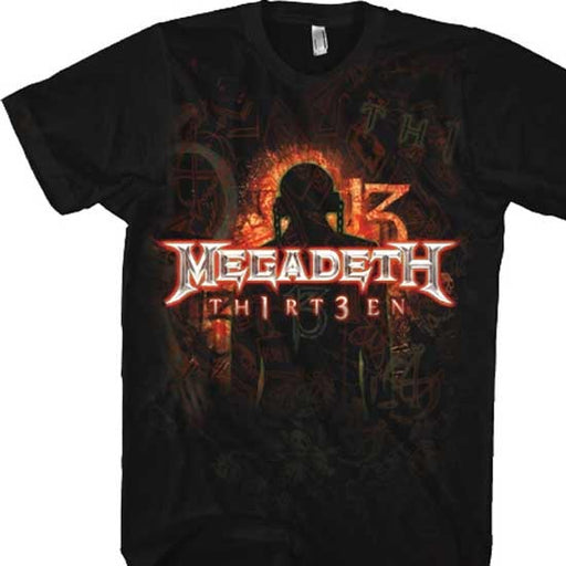T-Shirt - Megadeth - Th1rt3en-Metalomania
