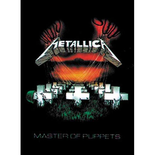 Flag - Metallica - Master of Puppets-Metalomania