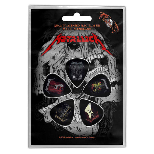 Guitar Picks - Metallica - Guitars-Metalomania