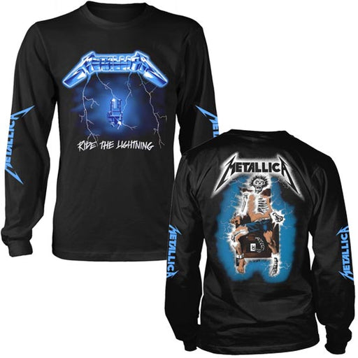 Long Sleeves- Metallica - Ride The Lightning w/Back