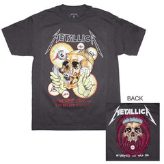 T-Shirt - Metallica - Shortest Straw Vintage - Charcoal