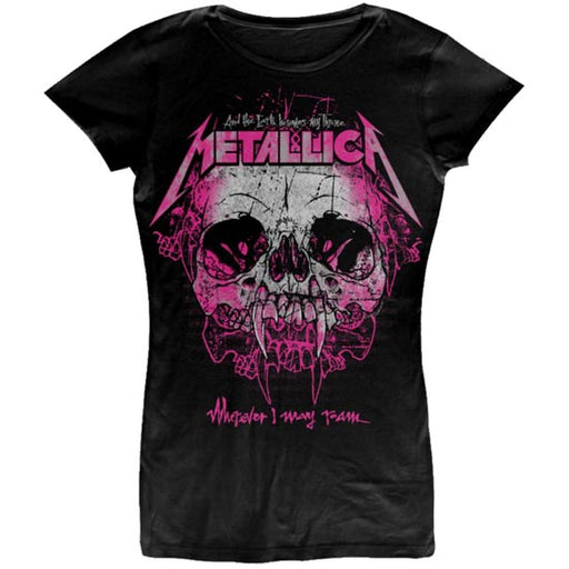 T-Shirt - Metallica - Wherever I May Roam - Lady