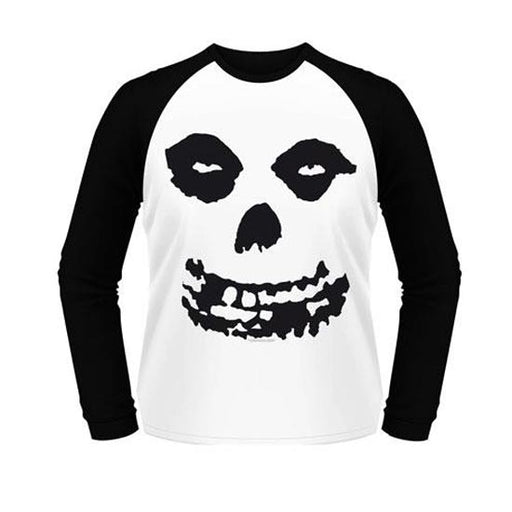 Raglan - Misfits - All Over Skull-Metalomania