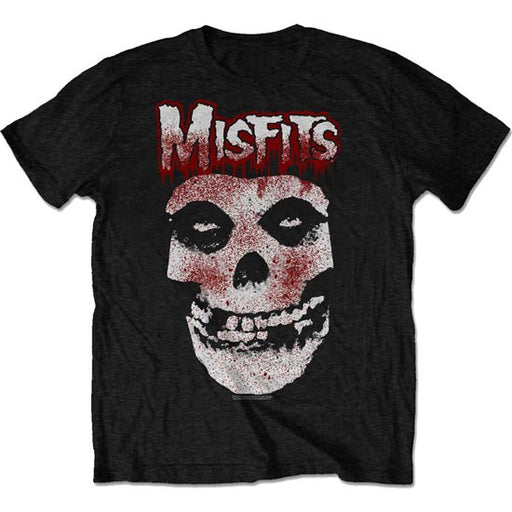 T-Shirt - Misfits - Blood Drip Skull