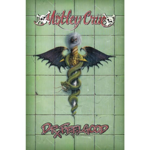 Deluxe Flag - Motley Crue - Dr Feelgood