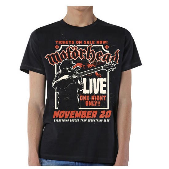 T-Shirt - Motorhead - Firepower - November 20-Metalomania