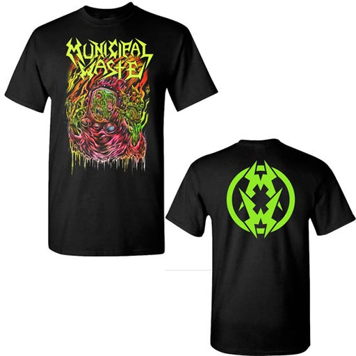 T-Shirt - Municipal Waste - Skinner