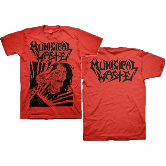 municipalwaste-tshirts-skelbot-red