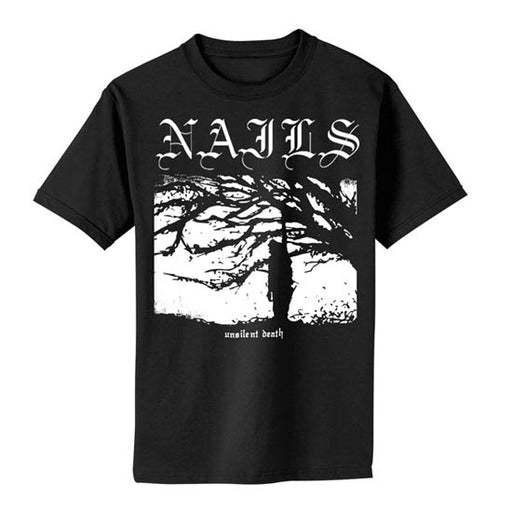 T-Shirt - Nails - Unsilent Death Cover