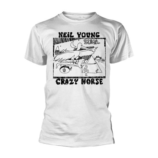 T-Shirt - Neil Young - Zuma - Crazy Horse - White