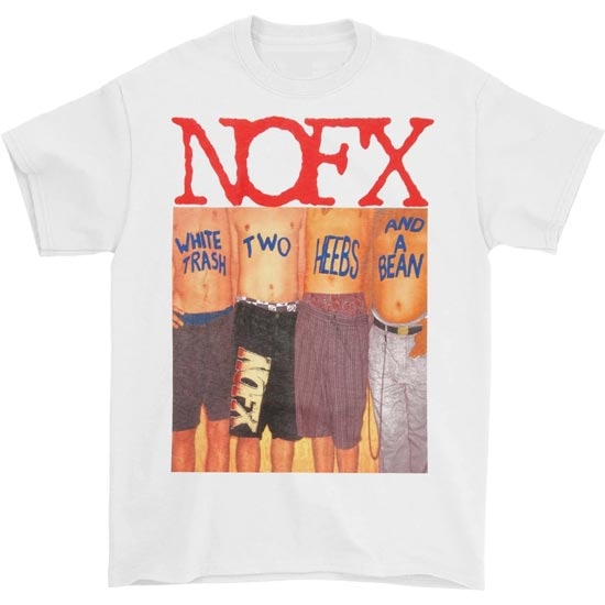 T-Shirt - NOFX - White Trash - White