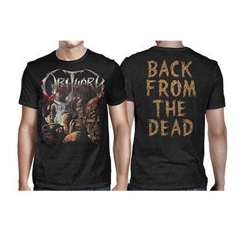 T-Shirt - Obituary - Back From The Dead