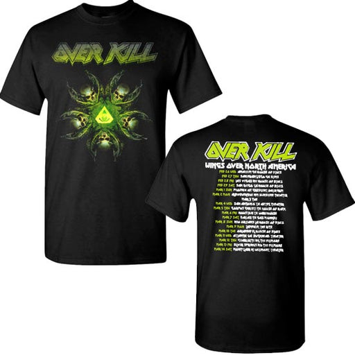 T-Shirt - Overkill - Wings of War - N. American Tour