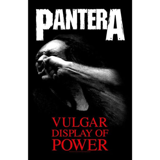 Deluxe Flag - Pantera - Vulgar Display of Power