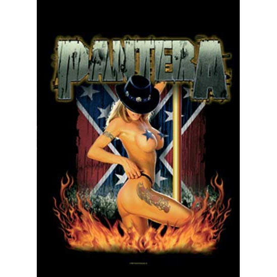 Flag - Pantera - Girl South-Metalomania