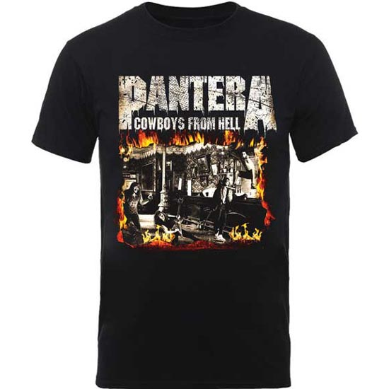 T-Shirt - Pantera - Cowboys From Hell - Version 2-Metalomania