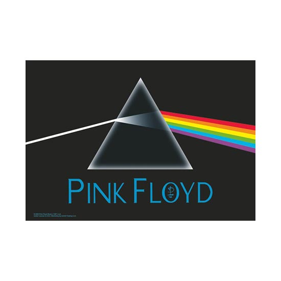 Flag - Pink Floyd - Dark Side of the Moon-Metalomania