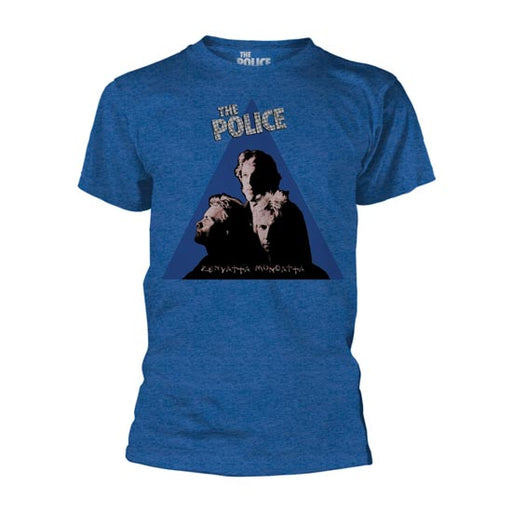 T-Shirt - The Police - Zenyatta Album Cover - Blue-Metalomania