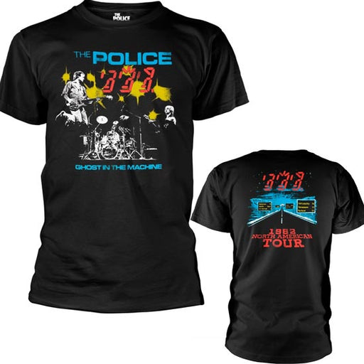 T-Shirt - The Police - Ghost in the Machine - Live