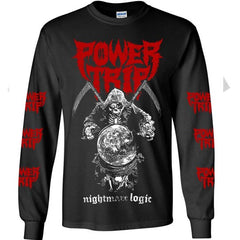 Long Sleeves - Power Trip - Reaper Nightmare Logic
