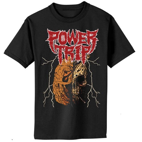 T-Shirt - Power Trip - Decimation Skull