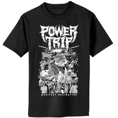 T-Shirt - Power Trip - Manifest War