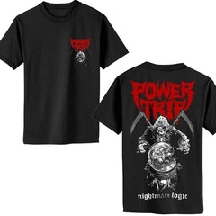 T-Shirt - Power Trip - Reaper Nightmare Logic
