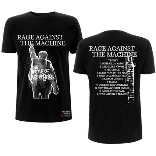 T-Shirt -  Rage Against The Machine -  BOLA Album Cover
