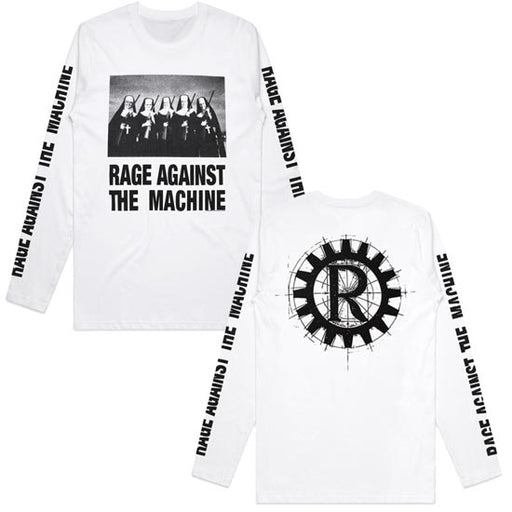 Long Sleeves -  Rage Against Machine -  Nuns And Guns - White